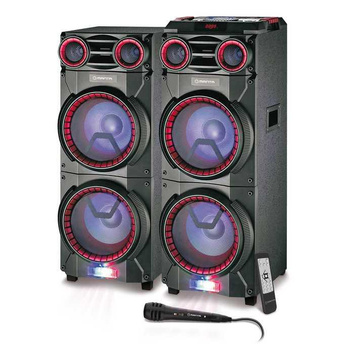 Kłośniki do karaoke z mikrofonem